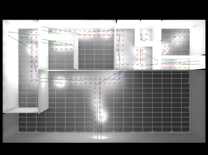 Photometric Drafting - Emergency Egress Lighting Calculation - Manufacturing Facility