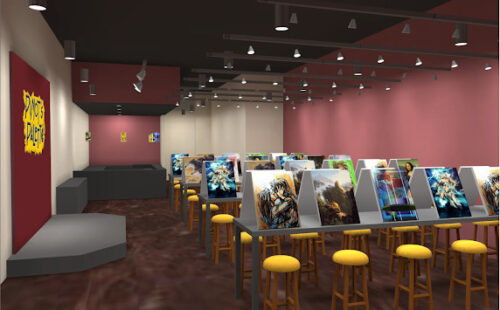 Photometric Drafting - Franchise Concept Render - Painting Class